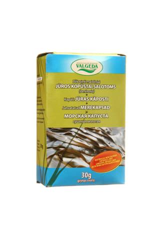 Jūros kopūstai salotoms VALGEDA, 30 g