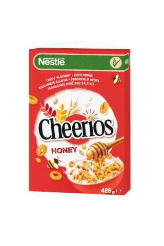 Sausi pusryčiai NESTLE CHEERIOS, 425 g