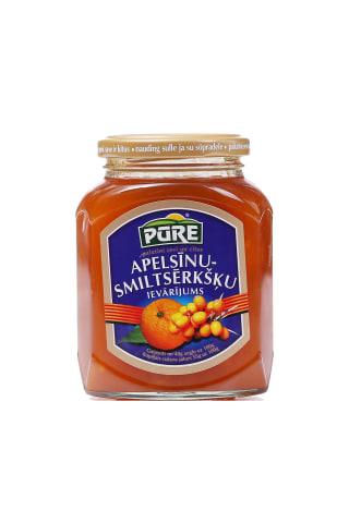 Ievārījums Pūre apelsīnu un smiltsērkšķu 420g