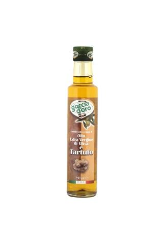 Extra virgine olīveļļa ar trifelēm goccio doro 0,250l  stikls
