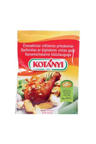 Garšvielas Kotanyi ar ķiplokiem vistas gaļai 30g
