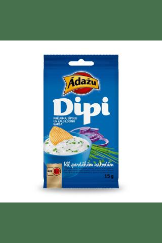 Mērcīte čipsiem Dipi ar krējuma un sīpolu garšu 15g