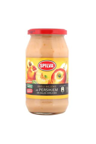 Biezenis Spilva ābolu persiku ar saldo krējumu 550g