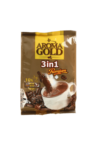 Kafijas dzēriens Aroma Gold 3in1 180g