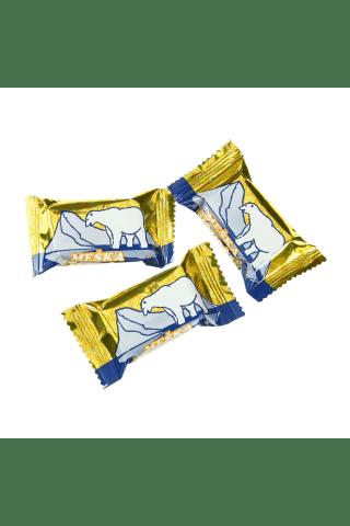 Vafliniai saldainiai MEŠKA ŠIAURĖJE, 1 kg
