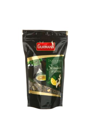 Žalioji arbata su imbieru ir citrina GURMAN'S, 90 g