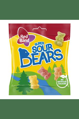 Želejkonfektes RedBand Sour Bears 100g