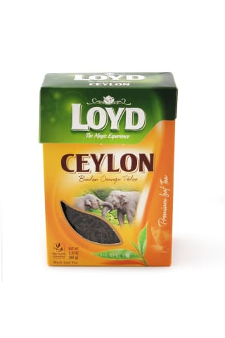 Juodoji arbata BASILUR LEAF OF CEYLON UVA, 100 g