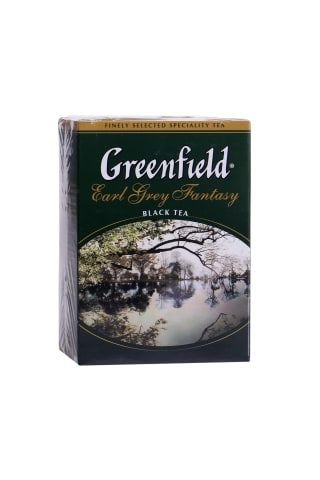 Juodoji arbata GREENFIELD EARL GREY FANTASY, 100 g