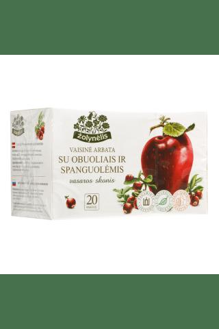 Vaisinė arbata su obuoliais ir spanguolėmis Vasaros skonis, 20 pak.
