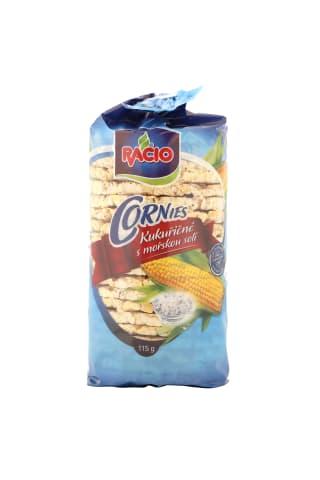 Kukurūzas galetes Racio ar jūras sāli 115g