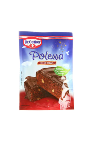 Juodojo šokolado glajus 100g