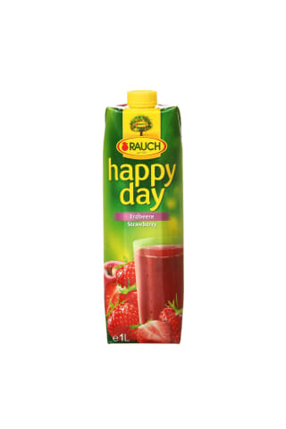 Braškių nektaras HAPPY DAY, 1 l