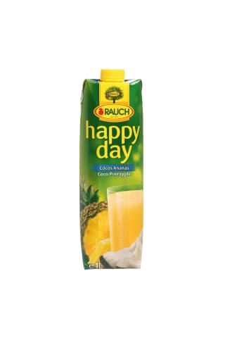 Kokosų-ananasų sultys HAPPY DAY, 1 l