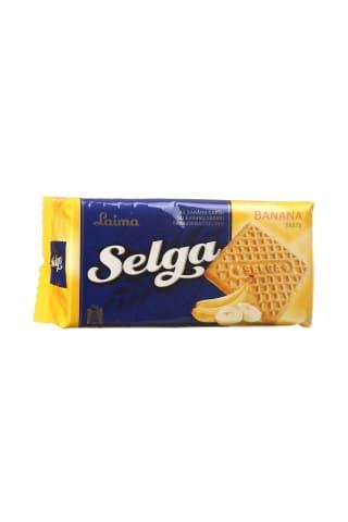 Sausainiai su bananų skoniu SELGA, 180 g