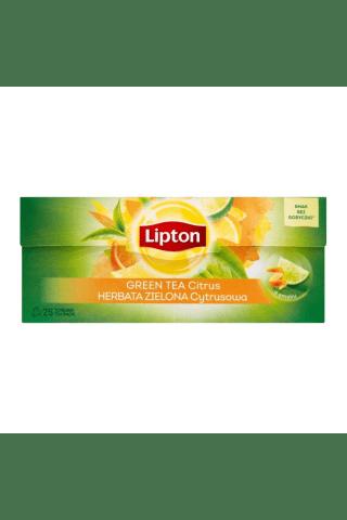 Zaļā tēja Lipton citrus 25tm 33g