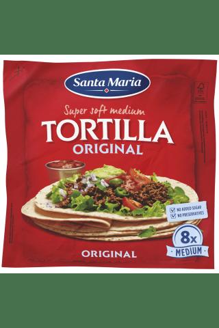Meksikietiškos tortilijos TEX MEX, 8 vnt., 320 g
