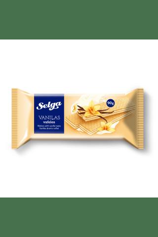 Vafeles Selga ar vaniļas garšu 90g
