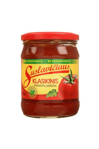 Pomidorų padažas SUSLAVIČIAUS Klasikinis, 500 g