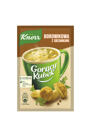 Sausā zupa Knorr baraviku 15g