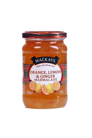 Marmelāde citrusaugu ar ingveru 340g