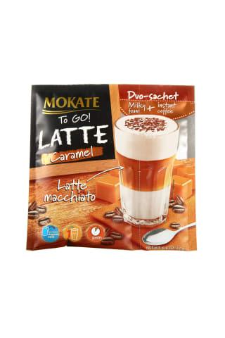 Kafijas dzēriens Mokate Latte Caramel 22g