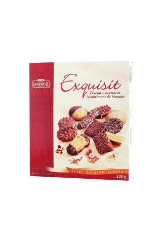 Sausainių asorti Lambertz Exquisit 200g