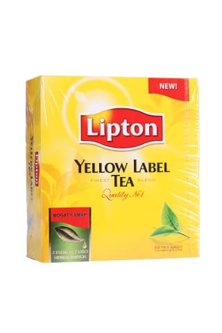 Melnā tēja Lipton Yellow Label 88x2g