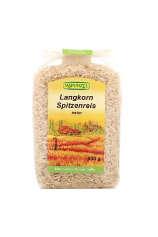 Rīsi graudaugu nepulētie Rapunzel ECO 500g