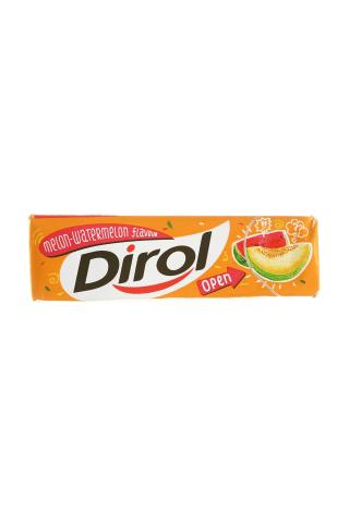 Melionų ir arbūzų skonio kramtomoji guma DIROL, 13,6 g