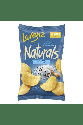 Bulvių traškučiai NATURALS SEA SALT&PEPPER, 100 g