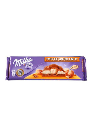 Milka toffee whole nuts 300g