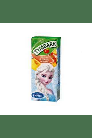 Ābolu un persiku dzēriens Tymbark 0.2L