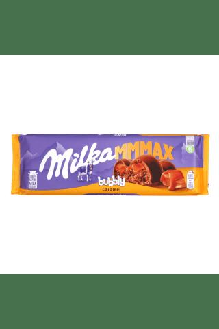 Piena šokolāde Milka Bubbly karameļu 250g