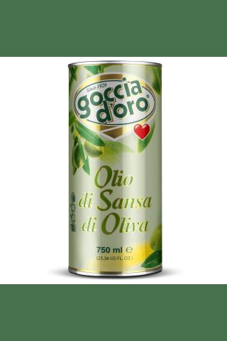 Pomace olīveļļa goccio doro 0,750l met.