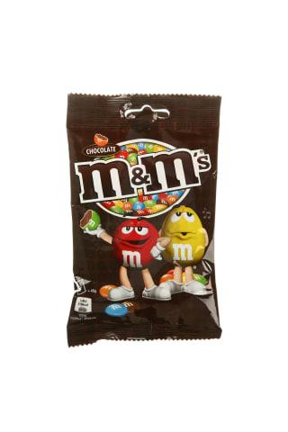 Pieninis šokoladas traškiame glajuje M&M'S, 90 g