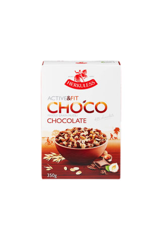 Musli Herkuless Active&Fit Choco Chocolate ar šokolādi 350g