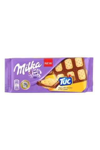 Šokolāde Milka Crackers Tuc 87g