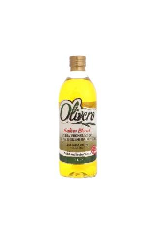 Olīveļļu un augu eļļu maisījums Olivero 1l
