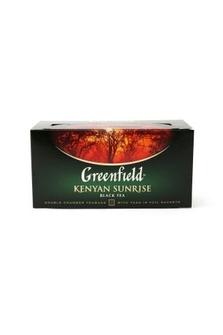 Melnā tēja Greenfield Kenyan Sunrise 25x2g