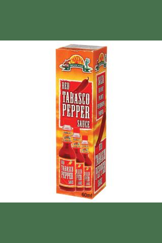 Raudonųjų pipirų padažas CANTINA TABASCO, 60 ml