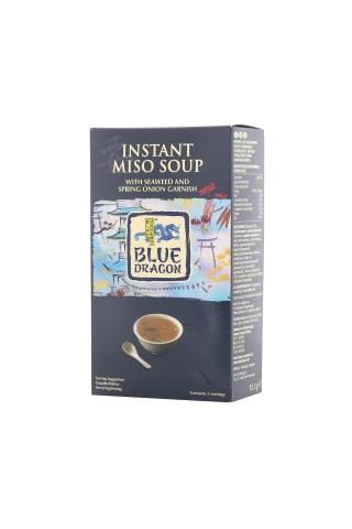 Miso pasta sriubai su laiškiniu svogūnu ir jūros žolėmis BLUE DRAGON, 92,5 g