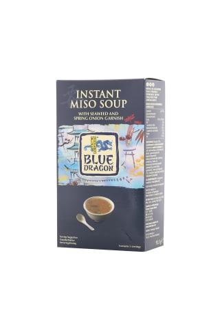 Zupa Miso ar lociņiem un jūraszālēm ātri pagatavojamā 92,5g