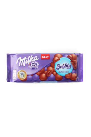 Chocolate Milka bubbly milk 90g