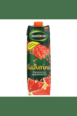 Rausvųjų greipfrutų sulčių gėrimas NATURINA, 1 l
