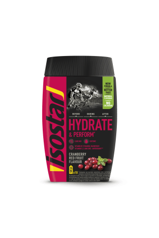 Pulveris Isostar Hydrate & Perform Antioxidants cranberry, red fruits 400g