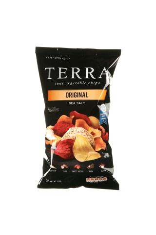 Original daržovių traškučiai terra 110g
