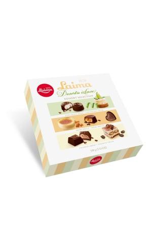 Šokolādes konfektes Desertu izlase Laima 100g
