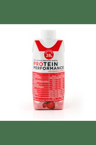 Dzēriens protein perf.zemeņu 0,33L