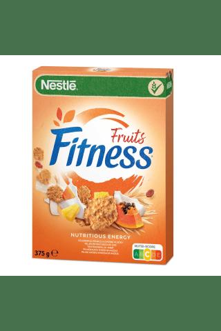 Nesmulkintų kviečių ir avižų dribsniai su vaisiais Nestle Fitness vitaminais ir mineralinėmis medžiagomis
